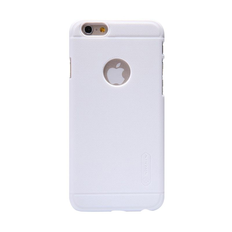 Nillkin Super Frosted Casing Putih for iPhone 6 + Nillkin Screen Protector
