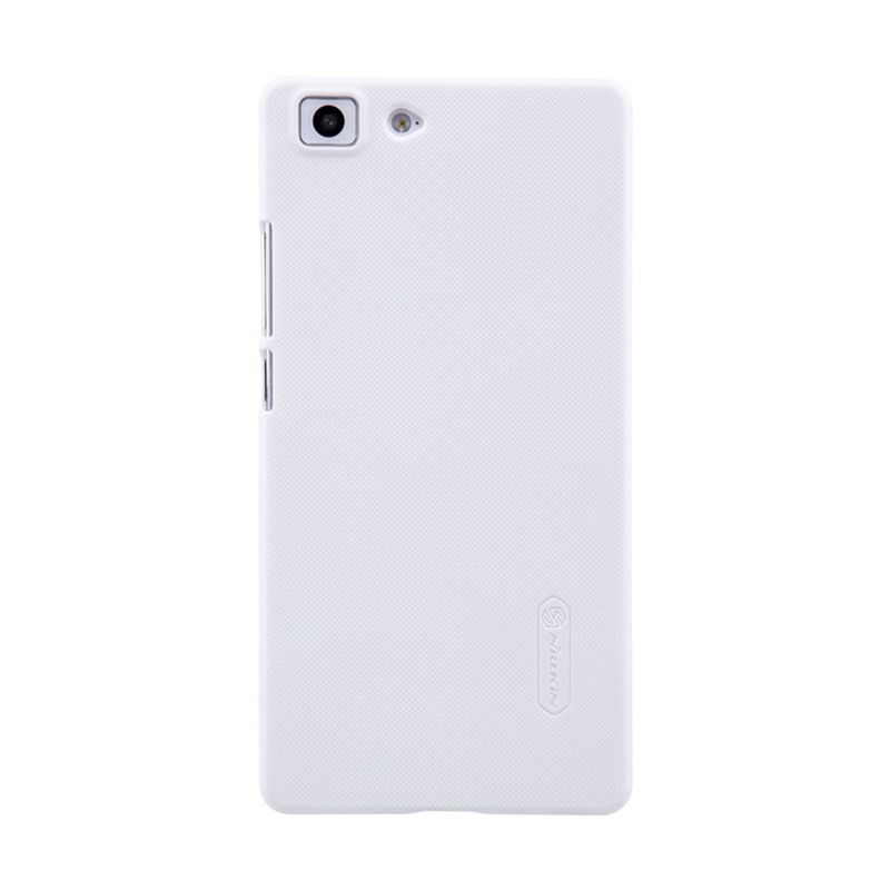 Nillkin Super Frosted Casing Putih for Oppo R5 R8107 + Nillkin Screen Protector