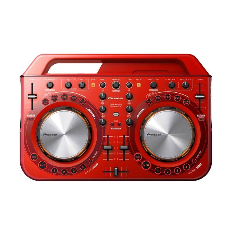 Pioneer DDJ-WeGO2 Red DJ Controllers