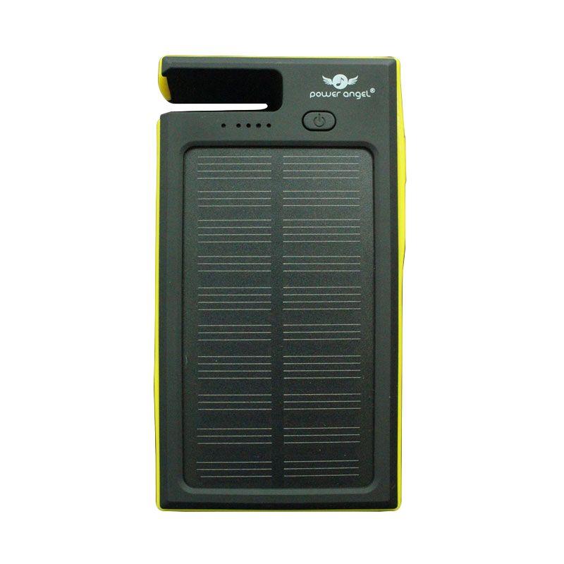 Power Angel Powerbank Solar Charger SC300 - 6800mAh - Hitam-Kuning