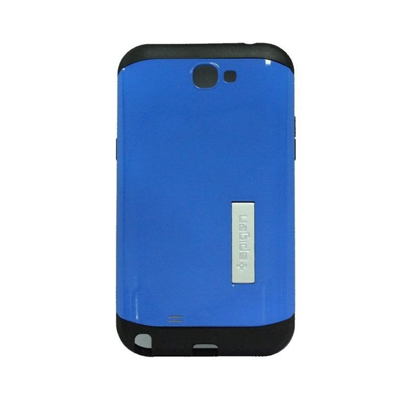 Spigen Tough Armor Blue Casing for Samsung Galaxy Note 2