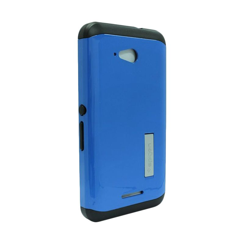 Spigen Tough Armor Blue Casing for Sony Xperia E4g