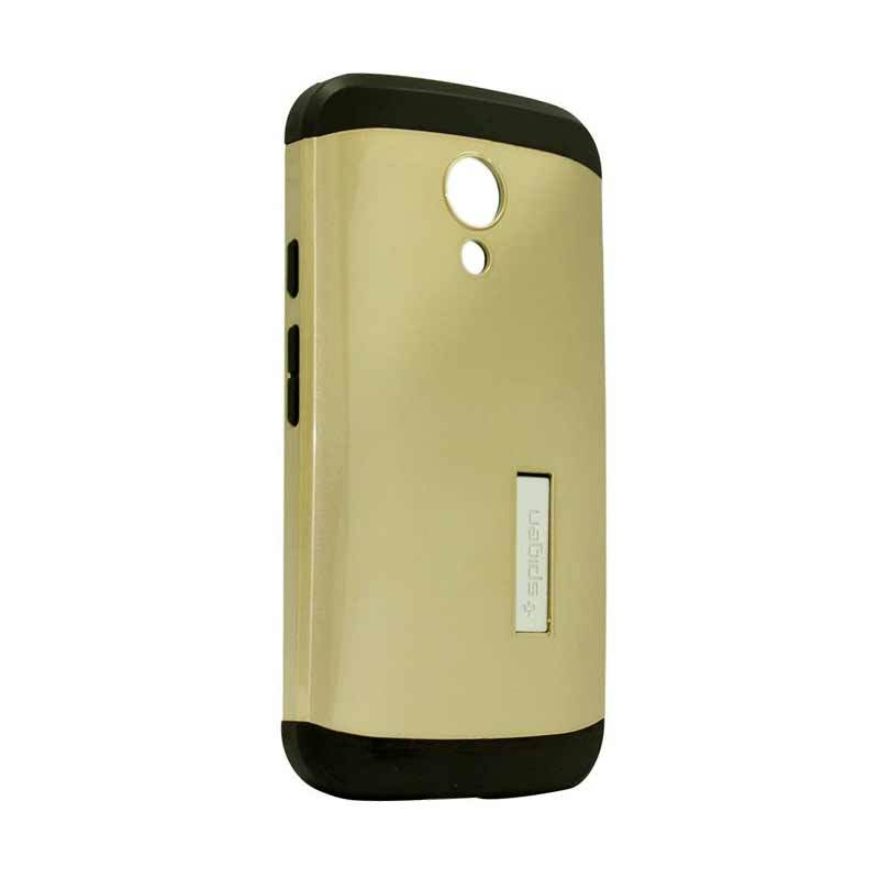 Spigen Tough Armor Gold Casing for Motorola Moto G2