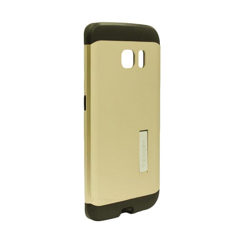 Spigen Tough Armor Gold Casing for Samsung Galaxy S6 Edge