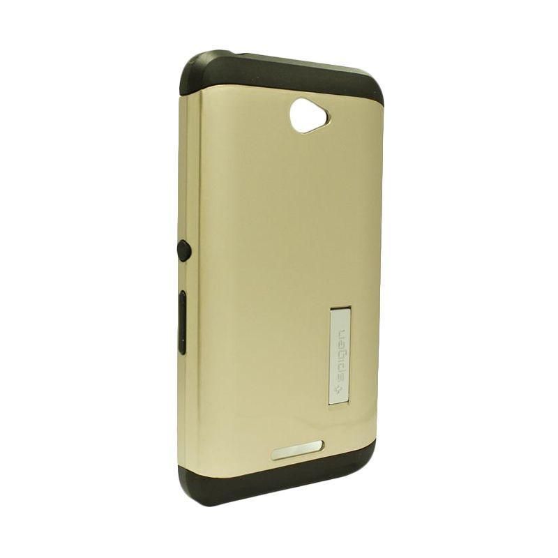 Spigen Tough Armor Gold Casing for Sony Xperia E4