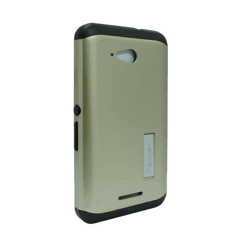 Spigen Tough Armor Gold Casing for Sony Xperia E4g