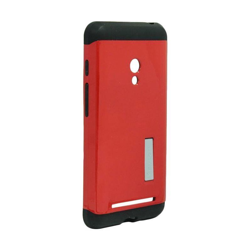 half off 6eea2 67a45 Spigen Tough Armor Red Casing for Asus Zenfone 5 A500CG