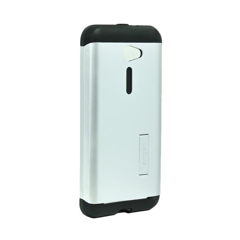 Spigen Tough Armor Silver Casing for Asus Zenfone 2 ZE500CL [5 Inch]