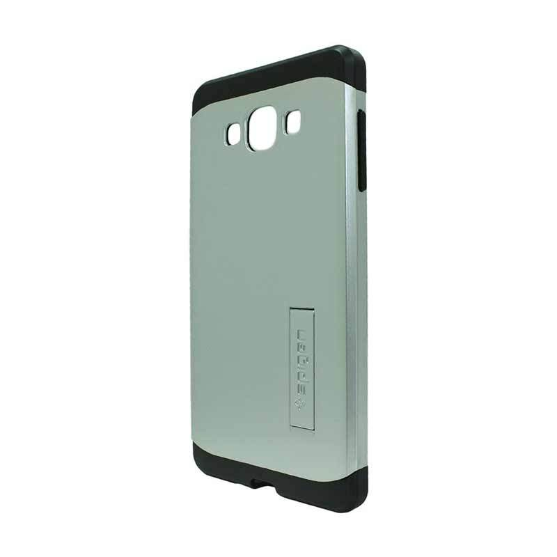 Spigen Tough Armor Silver Casing for Samsung Galaxy A7 A700