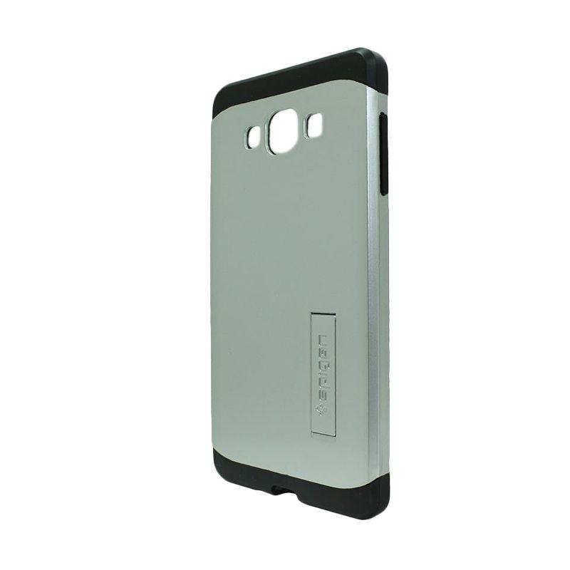 Spigen Tough Armor Silver Casing for Samsung Galaxy E7 E700