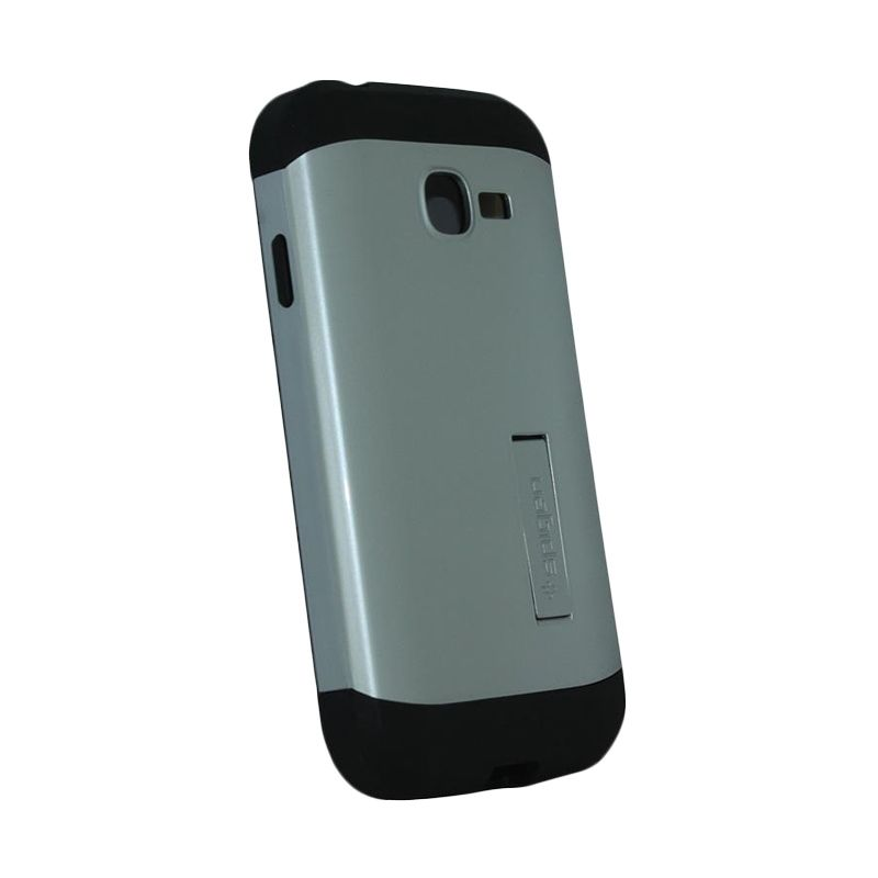 Spigen Tough Armor Silver Casing for Samsung Galaxy Star Pro S7262
