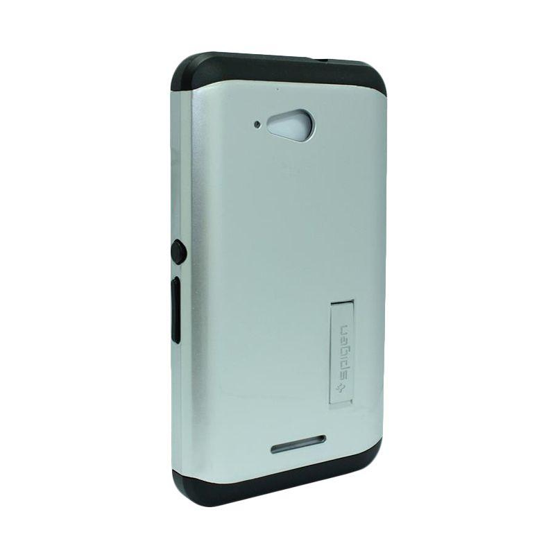 Spigen Tough Armor Silver Casing for Sony Xperia E4g