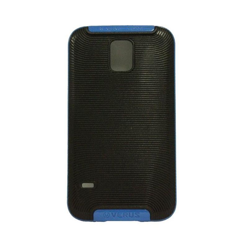 Verus Crucial Bumper Black Blue Casing for Galaxy S5
