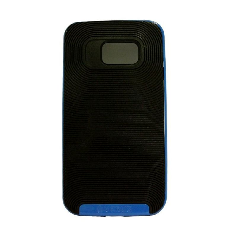 Verus Crucial Bumper Black Blue Casing for Galaxy S6 Edge