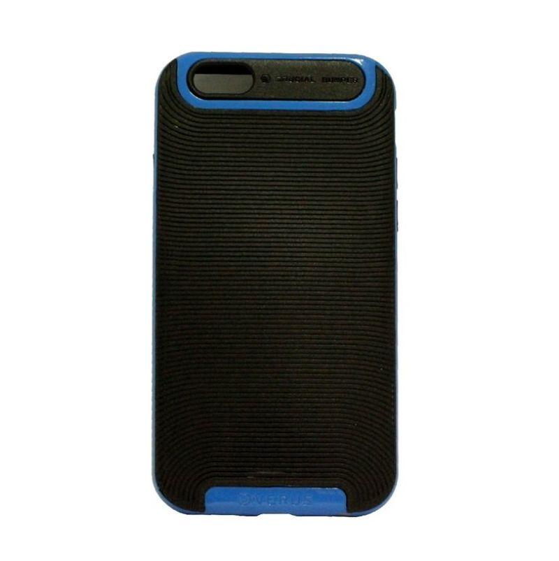Verus Crucial Bumper Black Blue Casing for iPhone 4