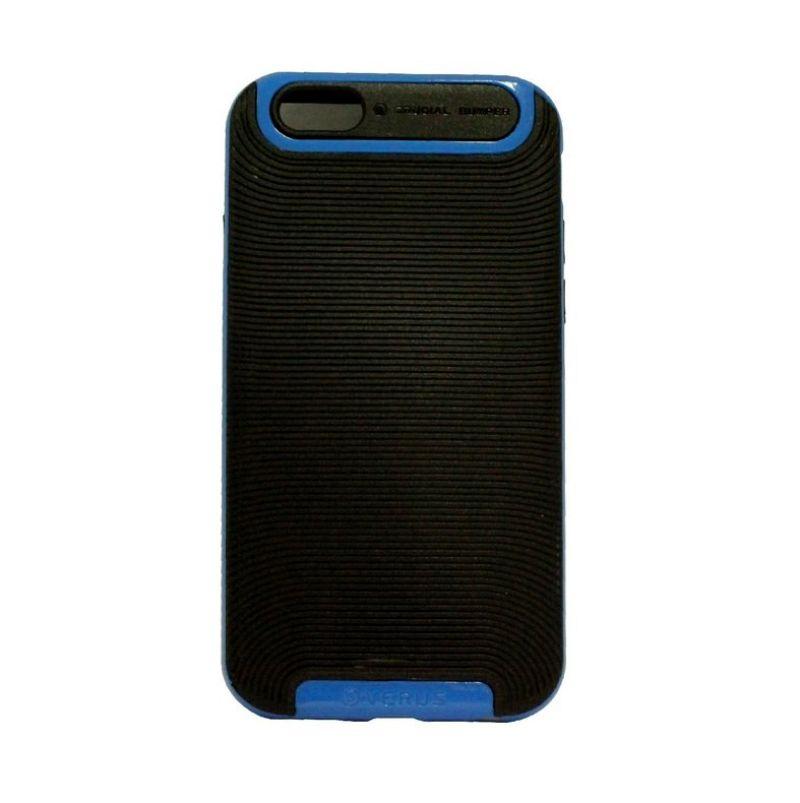 Verus Crucial Bumper Black Blue Casing for iPhone 6