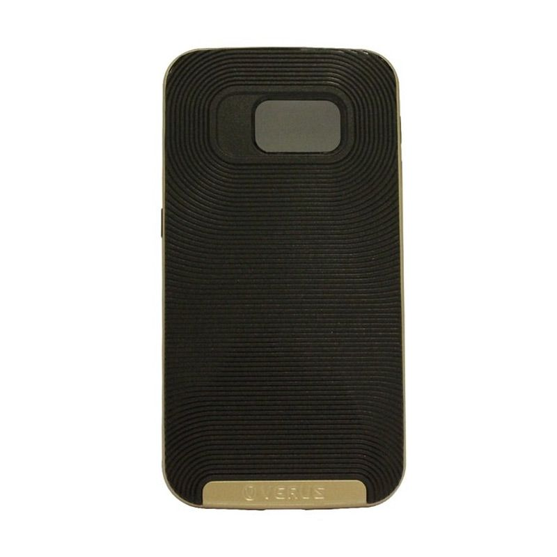Verus Crucial Bumper Black Gold Casing for Galaxy S6