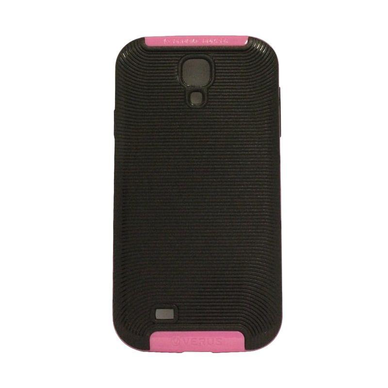 Verus Crucial Bumper Black Pink Casing for Galaxy S4 i9500
