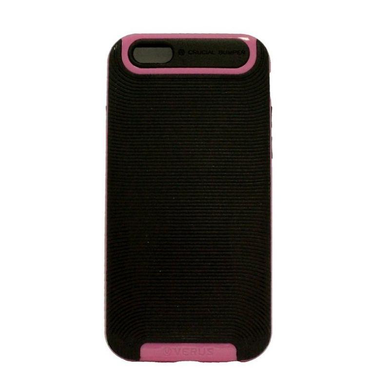 Verus Crucial Bumper Black Pink Casing for iPhone 6 Plus