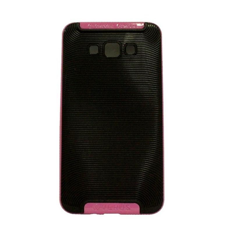 Verus Crucial Bumper Black Pink Casing for Samsung Galaxy A5