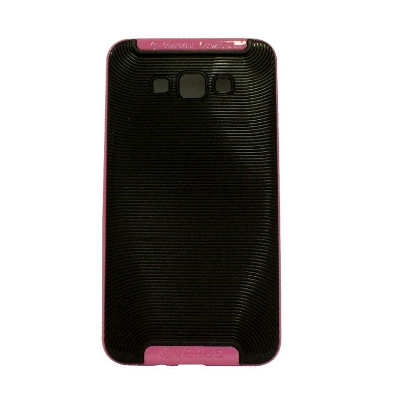Verus Crucial Bumper Black Pink Casing for Samsung Galaxy A7