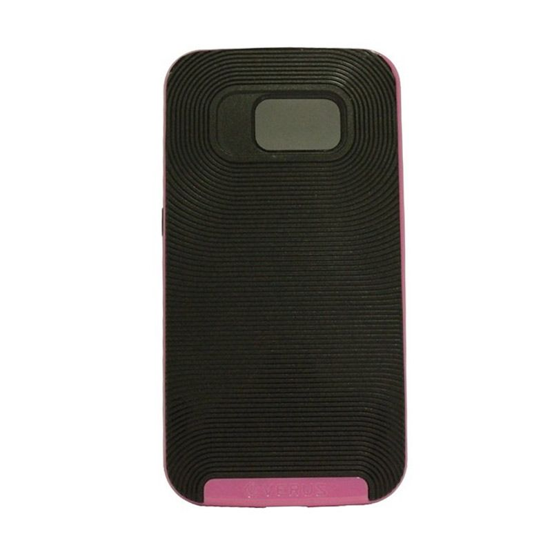 Verus Crucial Bumper Black Pink Casing for Samsung Galaxy S6
