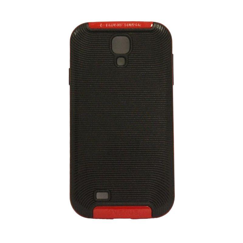 Verus Crucial Bumper Black Red Casing for Galaxy S4 i9500