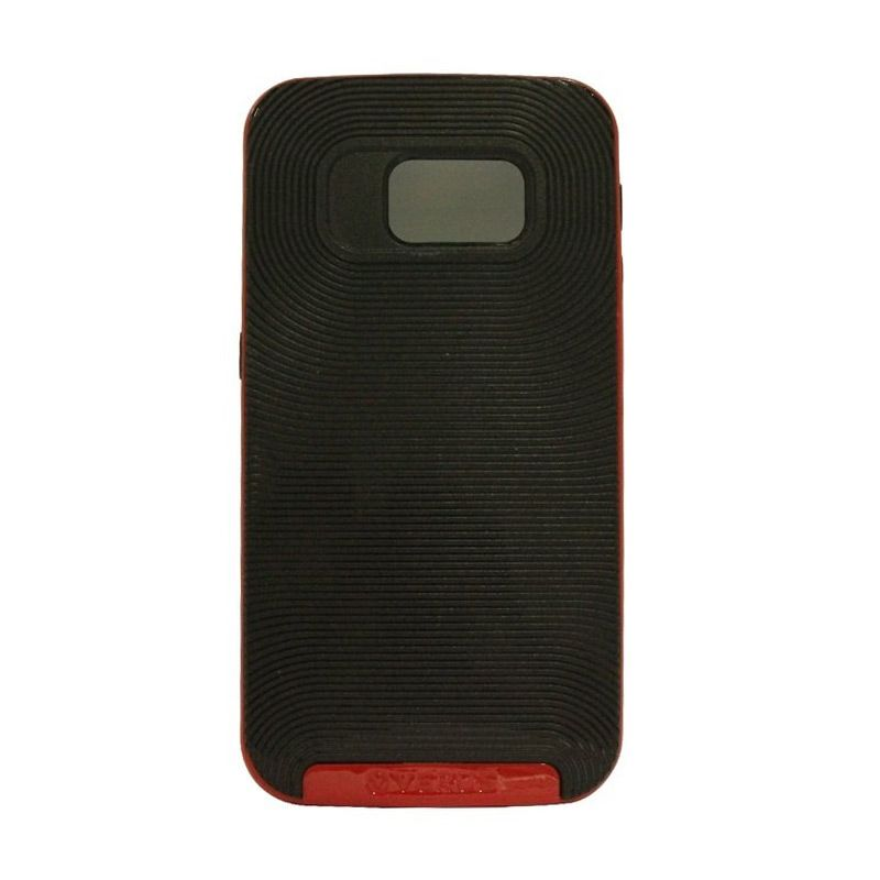 Verus Crucial Bumper Black Red Casing for Galaxy S6 Edge