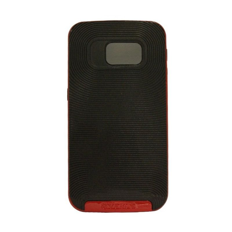 Verus Crucial Bumper Black Red Casing for Galaxy S6