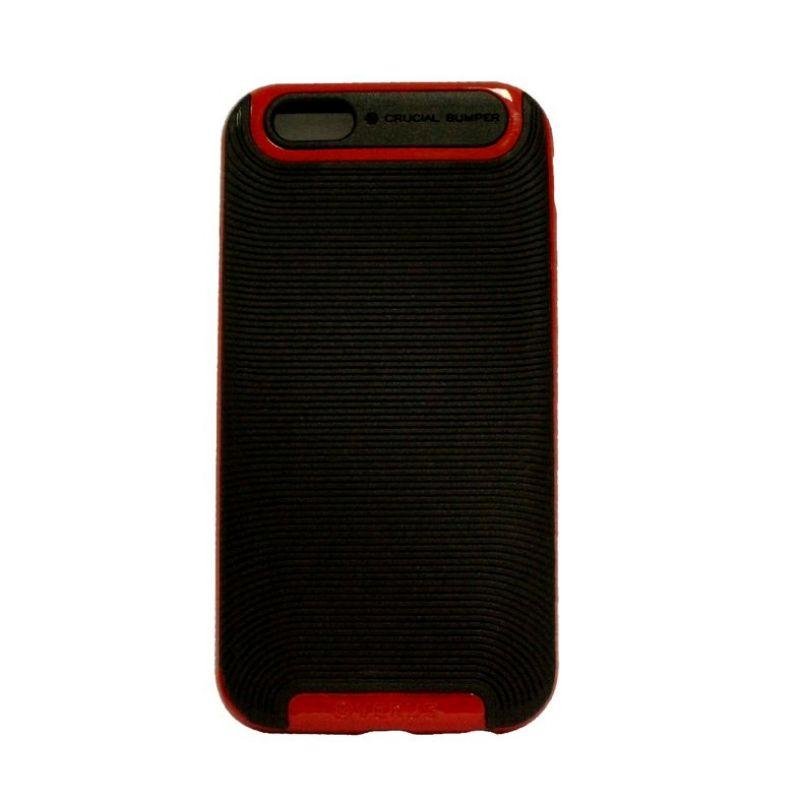 Verus Crucial Bumper Black Red Casing for iPhone 4