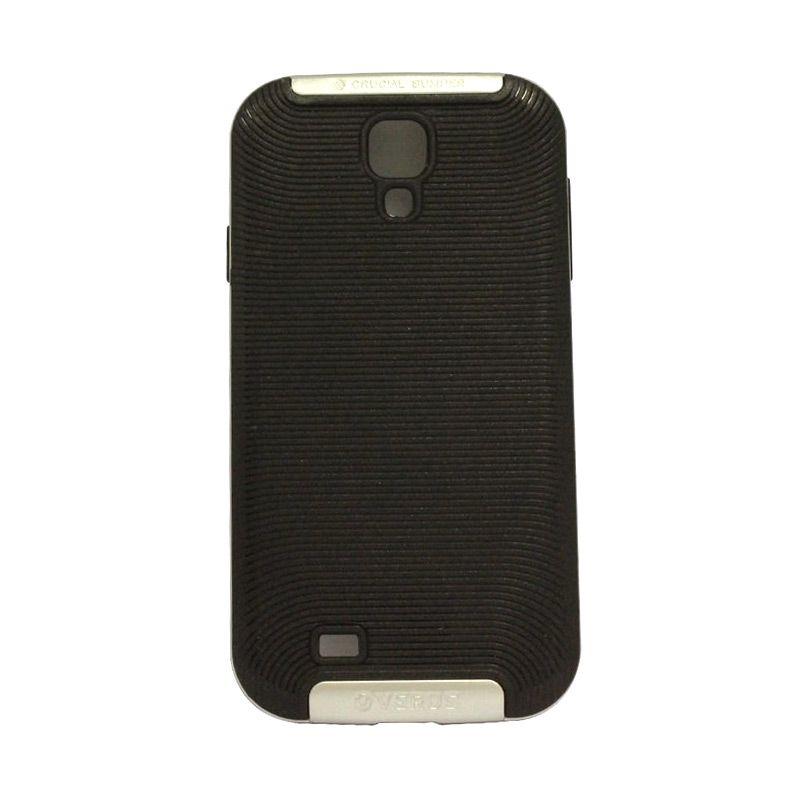 Verus Crucial Bumper Black Silver Casing for Galaxy S4 i9500