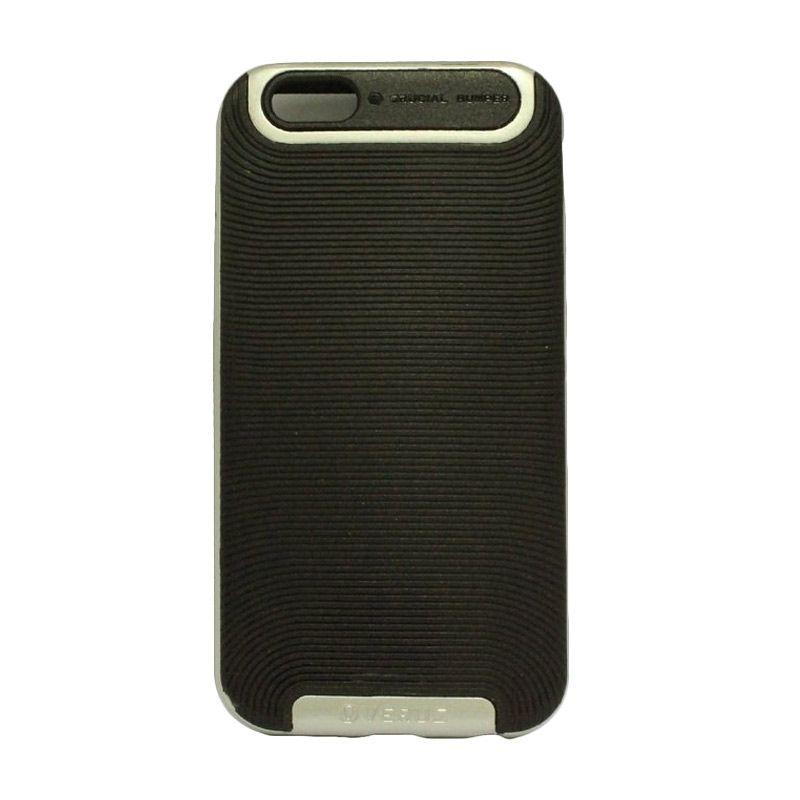 Verus Crucial Bumper Black Silver Casing for iPhone 6 Plus