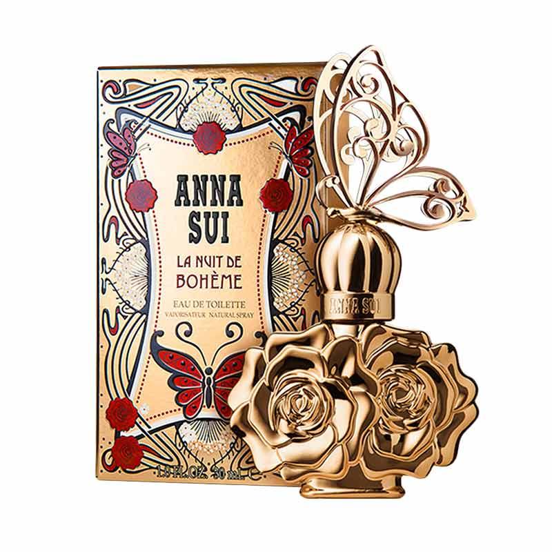 Anna Sui La Nuit de Boheme Women Parfum EDT Wanita [75 mL]