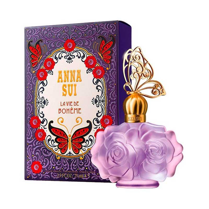 Anna Sui La Vie de Boheme Women Parfum EDT Wanita [75 mL] Ori Tester Non Box