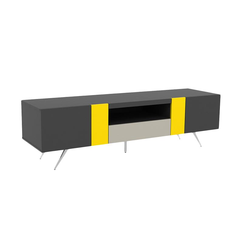 harga Anya-Living Mecca JUTV 170 Grey Yellow Taupe Rak TV Blibli.com