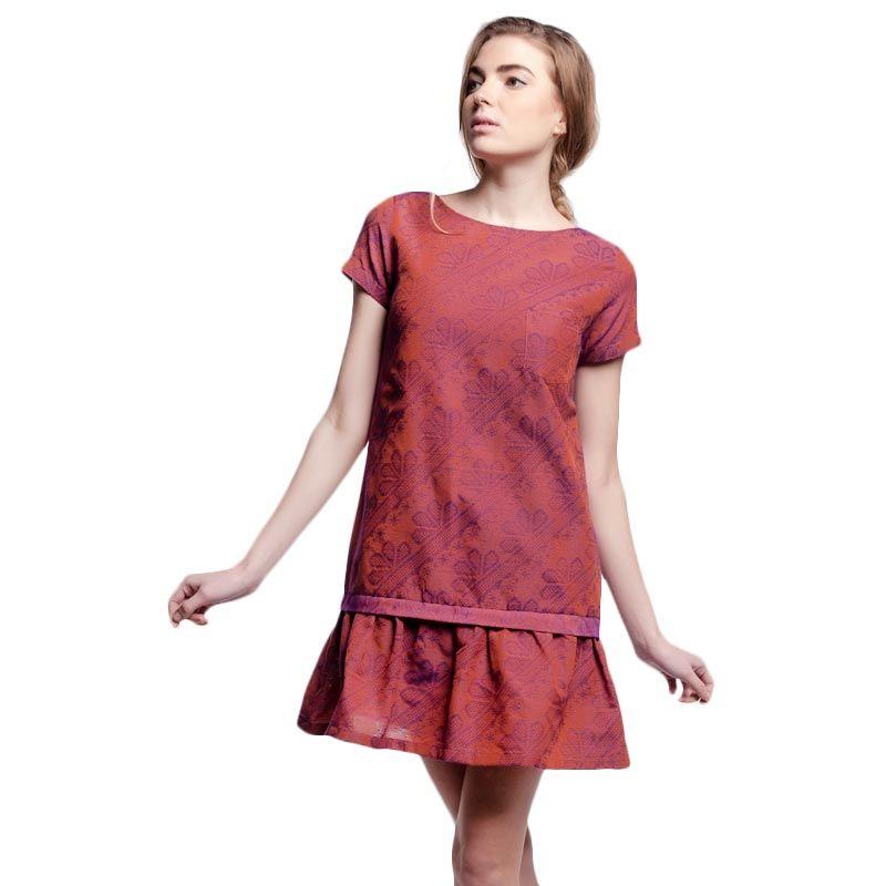 Anynome Dropped Waist Dress