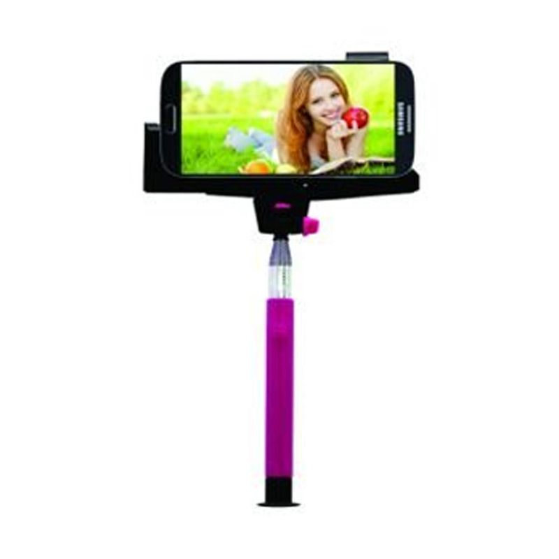Aldo Wireless & Bluetooth Pink Tongsis [Paket]