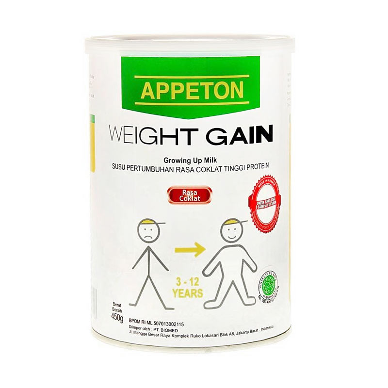 Jual Appeton Weight Gain Child Coklat 450gr Online