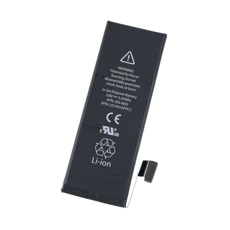 Apple Baterai for iPhone 5G - Hitam
