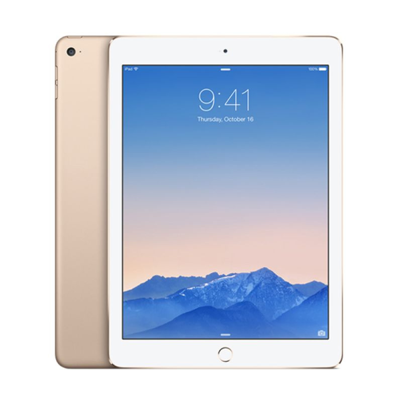 Spesifikasi Apple iPad Air 2 128 GB Smartphone - Gold [Wifi + Cellular] Harga murah Rp 9,085,000. Beli & dapatkan diskonnya.