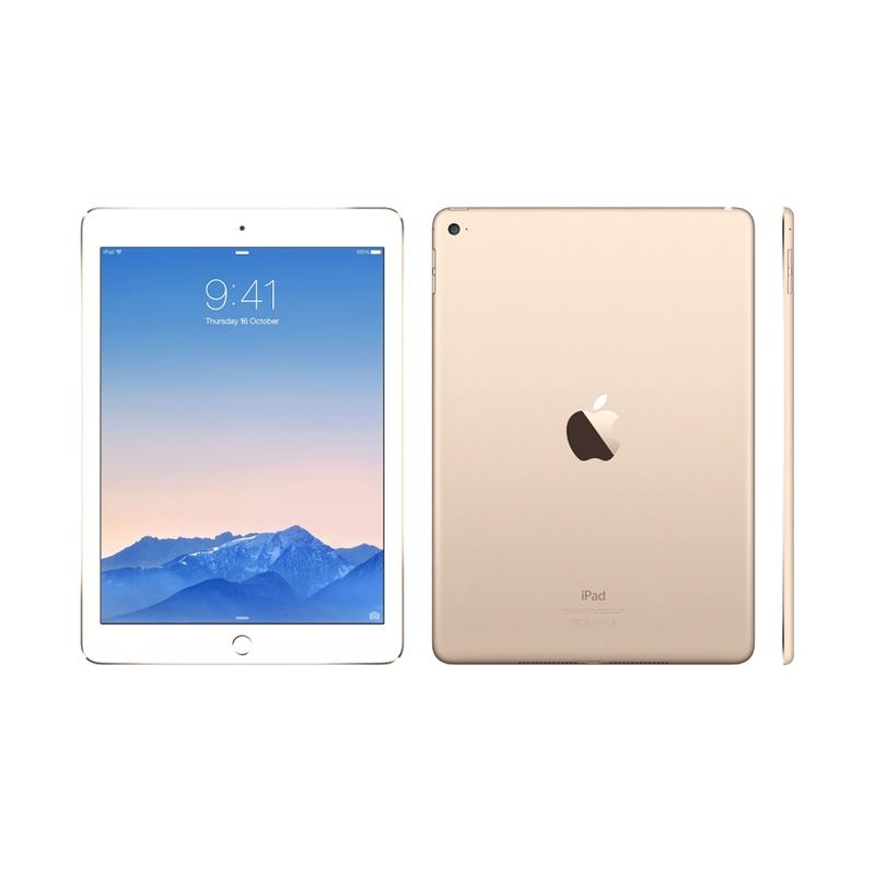 Spesifikasi Apple iPad Air 2 16 GB Gold Tablet [Wifi + Cellular] Harga murah Rp 7,959,700. Beli & dapatkan diskonnya.