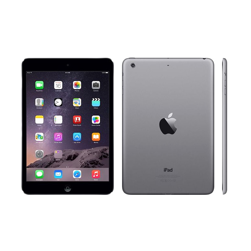 jual apple ipad mini 2 32gb gray tablet wifi only online. Black Bedroom Furniture Sets. Home Design Ideas