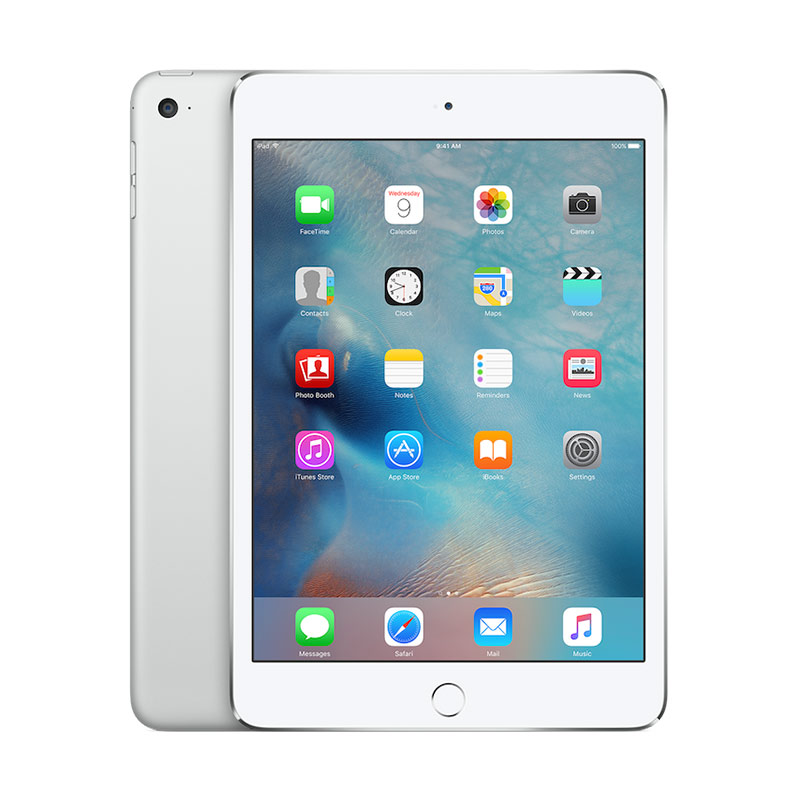 Apple iPad mini 4 128GB Tablet - Silver [WiFi Only]