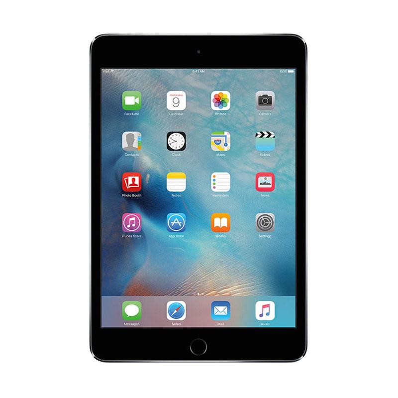 harga Apple iPad Mini 4 16GB Tablet - Grey [Wifi + Cellular] Blibli.com