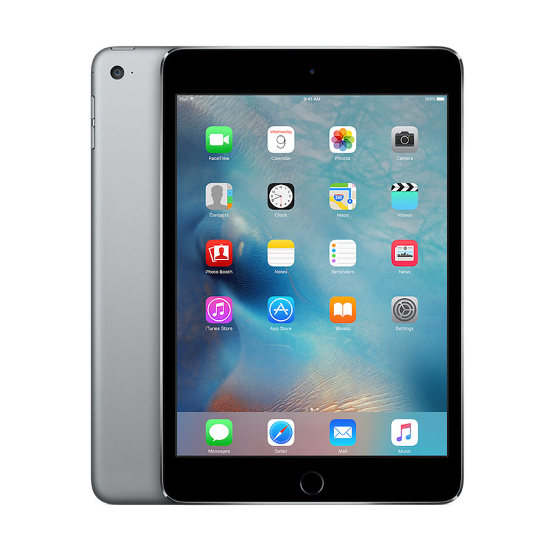 harga Weekend Deal - Apple iPad mini 4 64 GB Tablet - Space Gray [WiFi + Cellular] Blibli.com