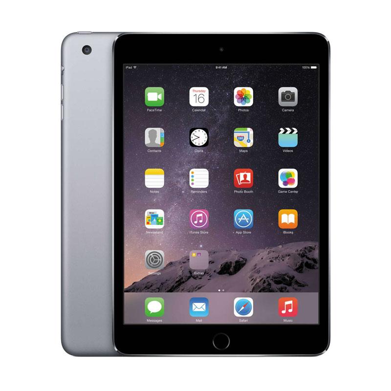 harga Apple iPad mini 4 64GB Tablet - Space Gray [WiFi + Cellular] Blibli.com