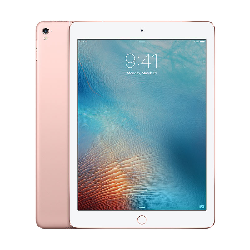Apple iPad Pro 256 GB Tablet - Rose Gold [WiFi + Cellular/9.7 Inch]