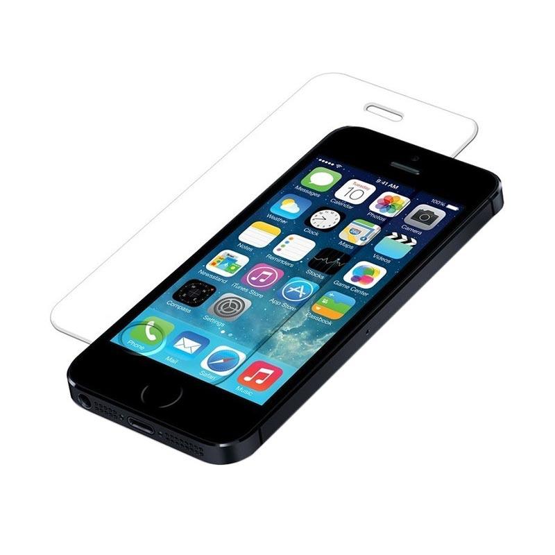 harga Apple iPhone 5 16 GB Smartphone - Black + Tempered Glass Blibli.com