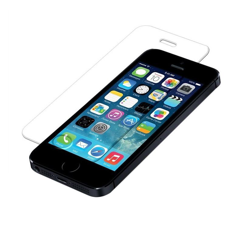 Diskon Apple iPhone 5 Hitam (Refurbish) Smartphone [32 GB] + Tempered Glass