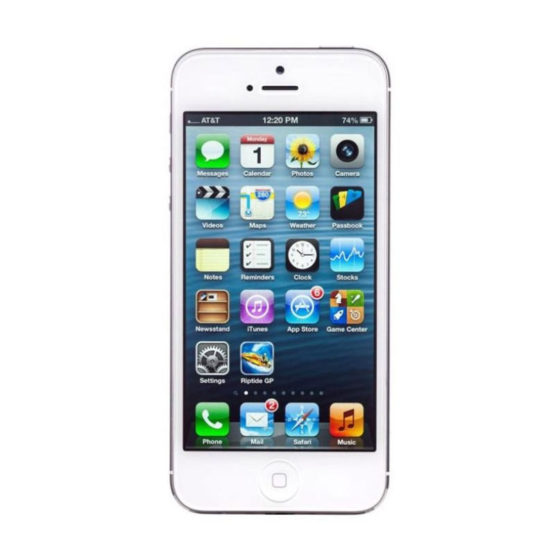 Apple iPhone 5 32 GB White Smartphone (Refurbish)
